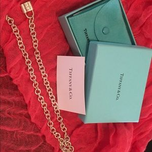 Tiffany & Co. Lock Charm Necklace